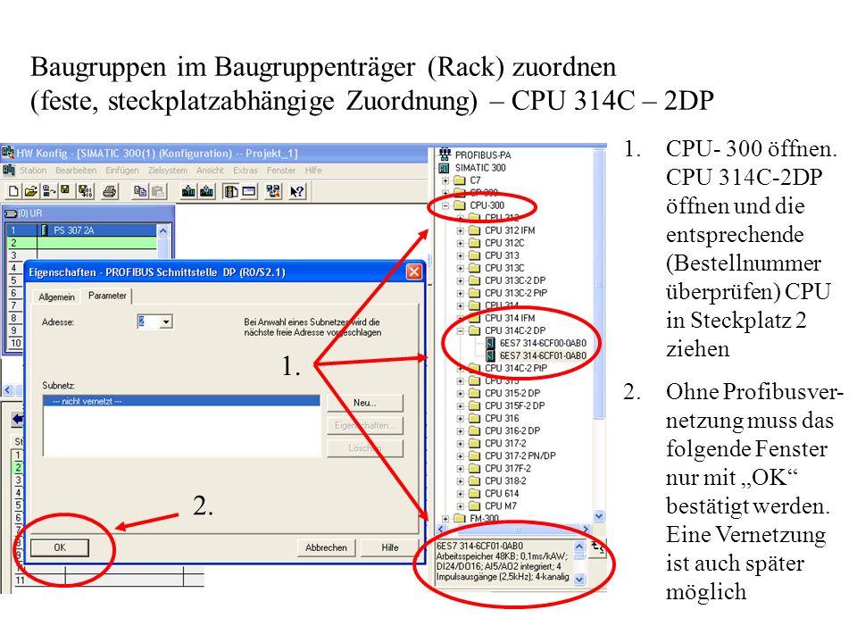 Anwenderprogramm erstellen - Symbolleiste Häufig verwendete Verknüpfungs-Symbole stehen direkt in der Symbolleiste, andere befinden sich im Fenster – Programmelemente -.