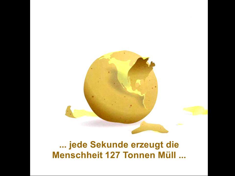 ÖFFENTLICHKEITSBETEILIGUNG www.transportlearning.net... jede Sekunde erzeugt die Menschheit 127 Tonnen Müll...