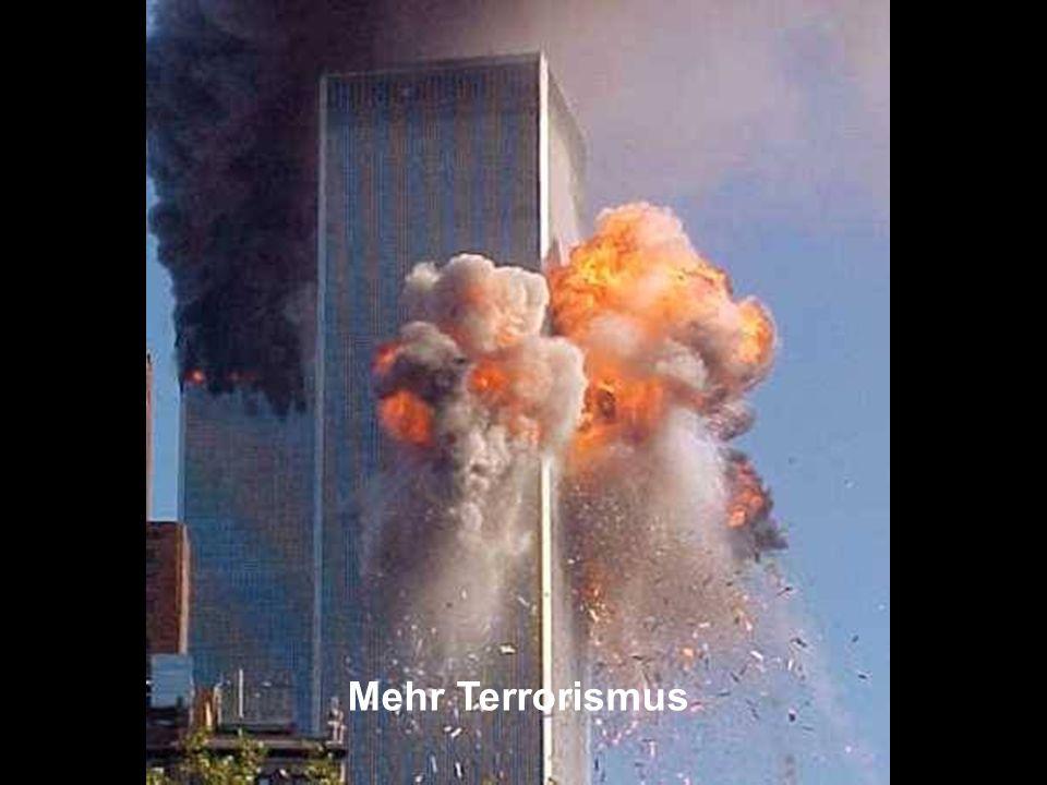 ÖFFENTLICHKEITSBETEILIGUNG www.transportlearning.net Mehr Terrorismus