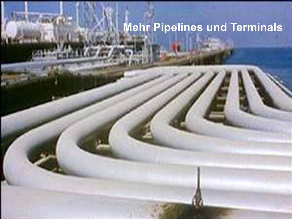 ÖFFENTLICHKEITSBETEILIGUNG www.transportlearning.net Mehr Pipelines und Terminals