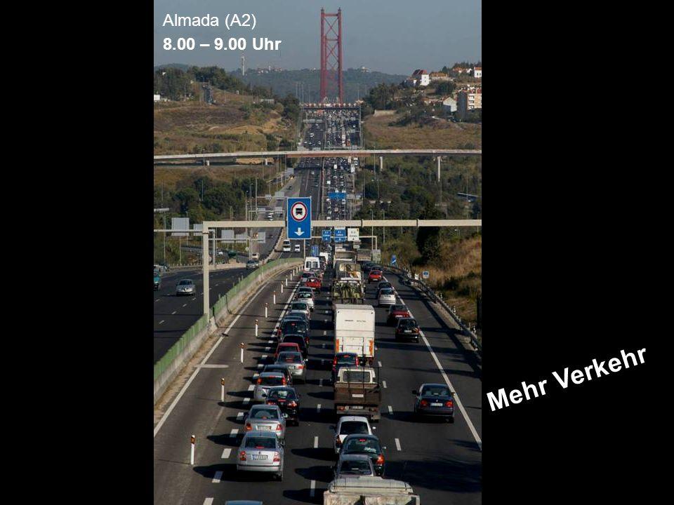 ÖFFENTLICHKEITSBETEILIGUNG www.transportlearning.net Almada (A2) 8.00 – 9.00 Uhr Mehr Verkehr