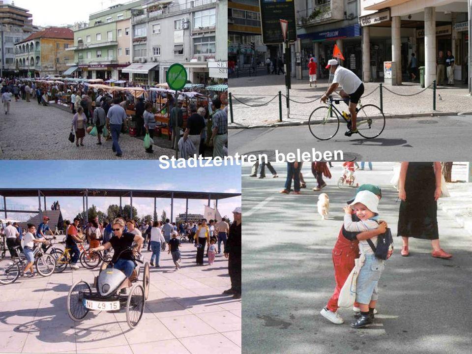 ÖFFENTLICHKEITSBETEILIGUNG www.transportlearning.net Stadtzentren beleben