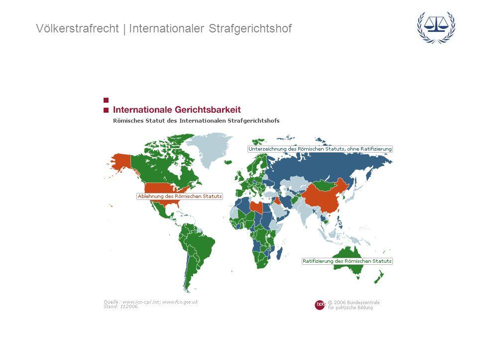 Völkerstrafrecht | Internationaler Strafgerichtshof