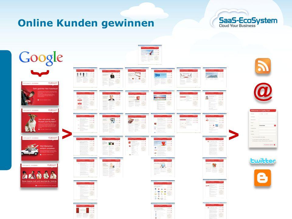 22. November 2010 | Seite 17 Kundengewinnung in der Cloud Beispiel für eine Landingpage