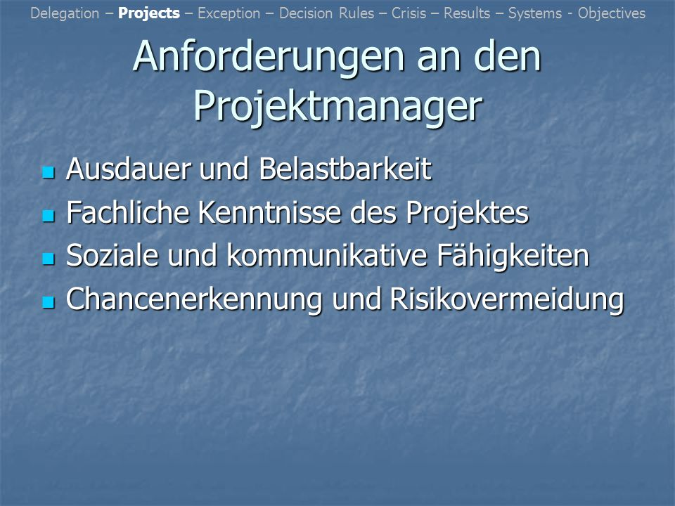 Management by… Führungskonzepte in der Wirtschaft Theresa Daut Valeri Dick Georg Röhrich Stefan Nabering Jan Kieseheuer Michael Birkmann Tobias Meyer Sven Wöhler
