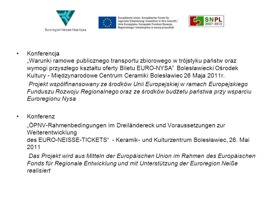 Stanislava Jakešová: Działalość Libereckiego Kraju w projektowaniu transgranicznego transportu publicznego w Euroregionie Nysy.
