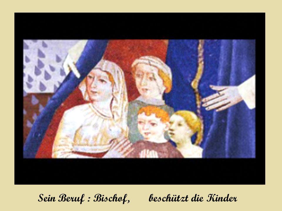 Sein Beruf : Bischof, beschützt die Kinder