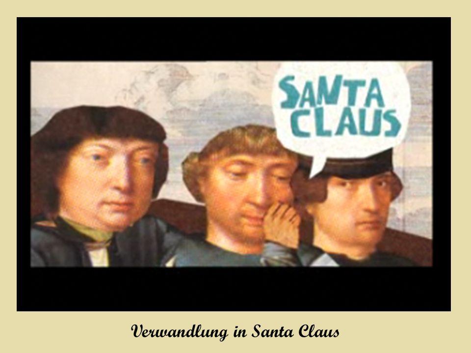 Verwandlung in Santa Claus