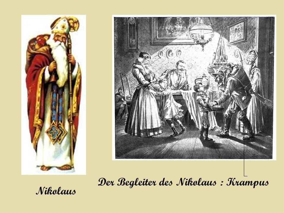 begleiter des heiligen nikolaus