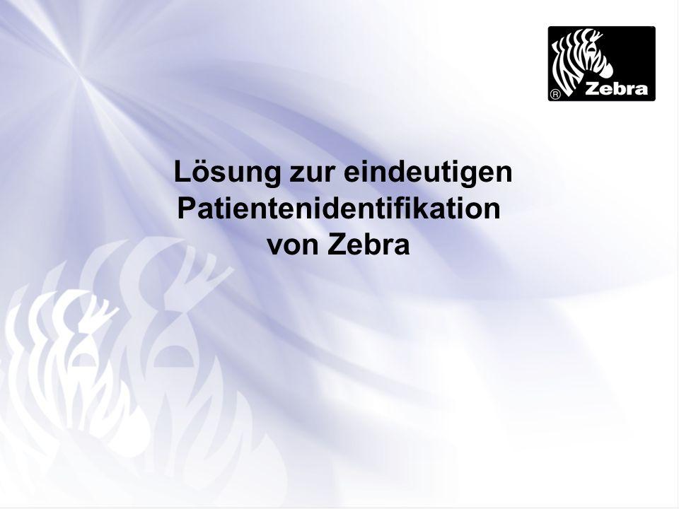 Lösung zur eindeutigen Patientenidentifikation von Zebra