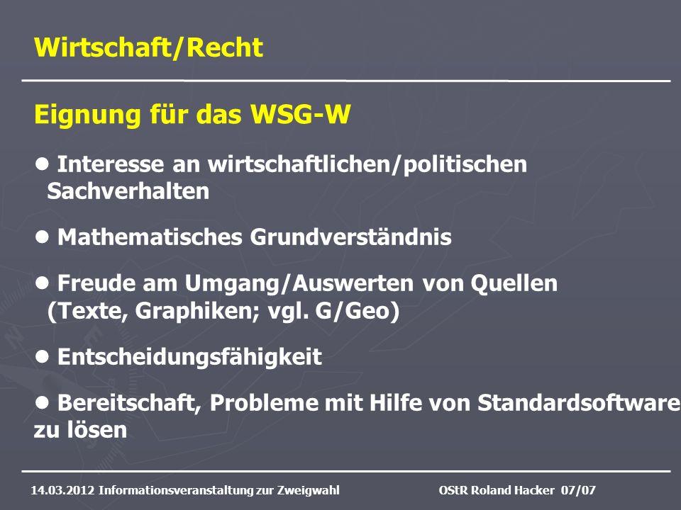 Informatik 14.03.2012 Informationsveranstaltung zur ZweigwahlOStR Manuel Friedrich 09/17 Informatik - zwischen Bedienerschulung und Wissenschaft