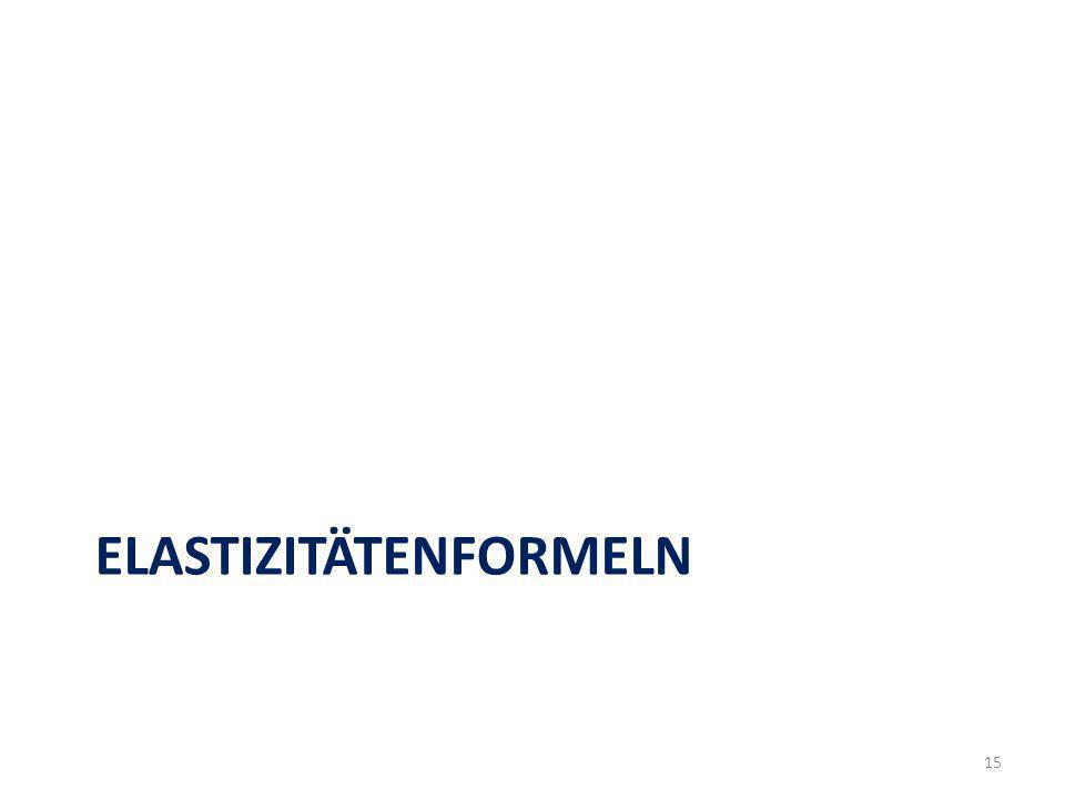 ELASTIZITÄTENFORMELN 15