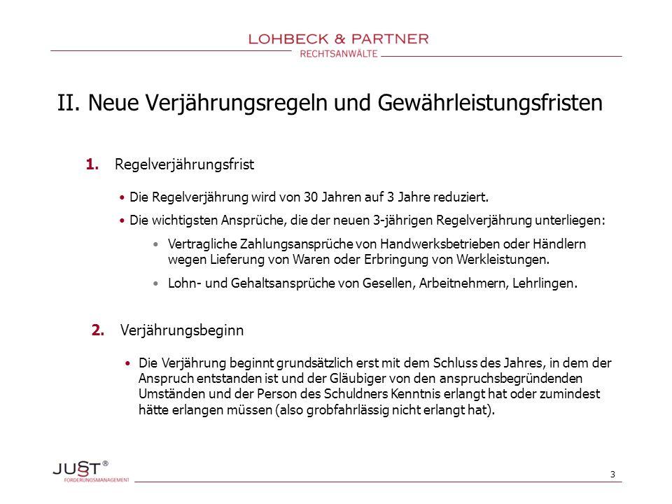 14 III.Neuregelungen des Kaufrechts 1. Kaufrecht oder Werkvertragsrecht anwendbar.