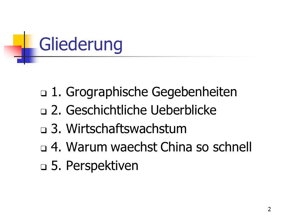 13 2.Geschichtliche Ueberblicke 1. Politische Geschichte F ü nf Regierungen im 20.