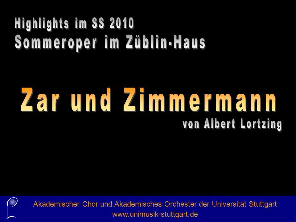 Akademischer Chor und Akademisches Orchester der Universität Stuttgart www.unimusik-stuttgart.de