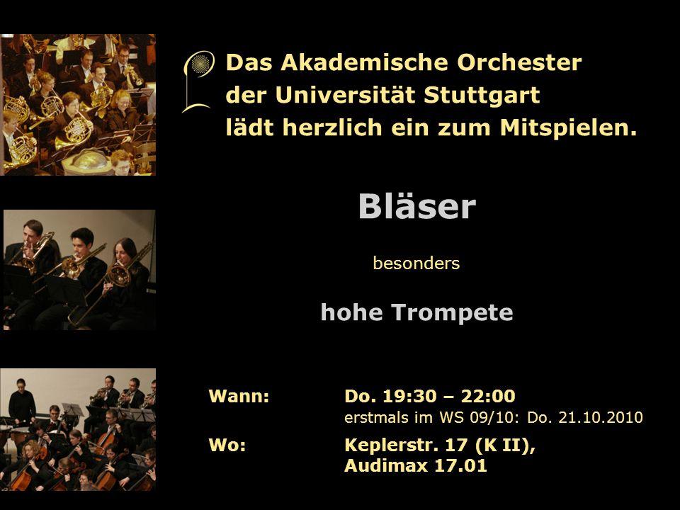 Orchesterprobenwochenende Kloster Ochsenhausen Akademischer Chor und Akademisches Orchester der Universität Stuttgart www.unimusik-stuttgart.de