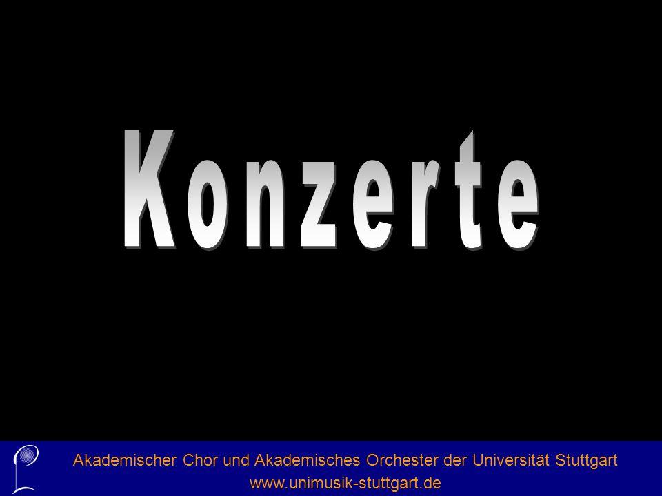 Akademischer Chor und Akademisches Orchester der Universität Stuttgart www.unimusik-stuttgart.de Highlights im SS 2010Sommer-Oper im Züblin-Haus Zar und Zimmermann von A.