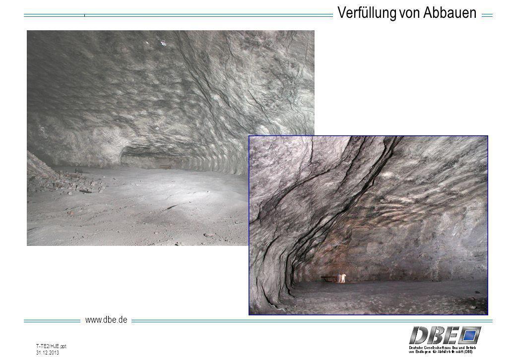 www.dbe.de 31.12.2013 T-TE2/HJE.ppt Verfüllung von Abbauen