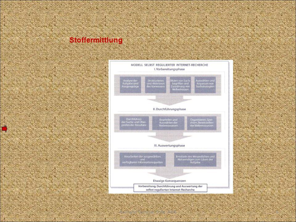 Techniken der Stoffsammlung Speichern von Informationen Anlegen von Karteien Informationsverarbeitung und –verwaltung in Computergestützten Dateien