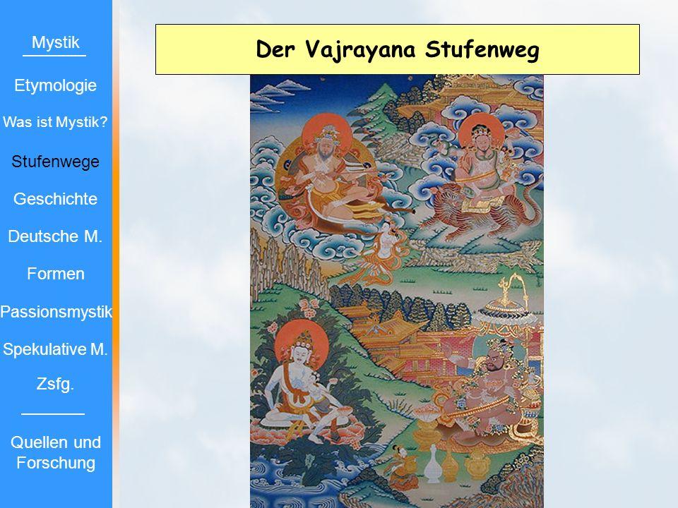 Der Vajrayana Stufenweg Mystik Etymologie Stufenwege Geschichte Deutsche M. Formen Passionsmystik Spekulative M. Zsfg. Quellen und Forschung Was ist M