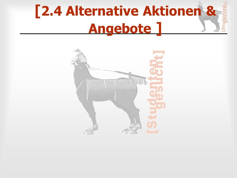 [ 2.4 Alternative Aktionen & Angebote ]