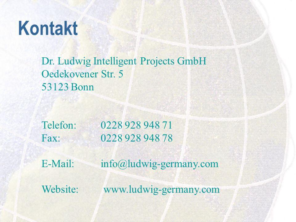 Kontakt Dr.Ludwig Intelligent Projects GmbH Oedekovener Str.