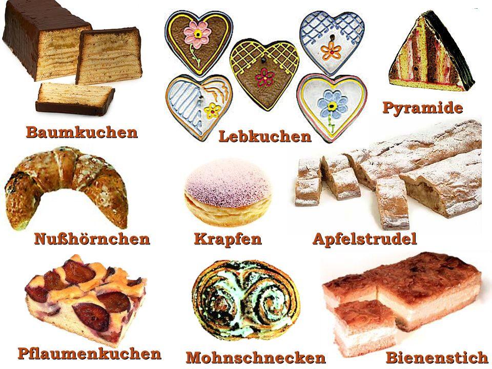 Gebäck Brezeln Brot Brötchen Feingebäck