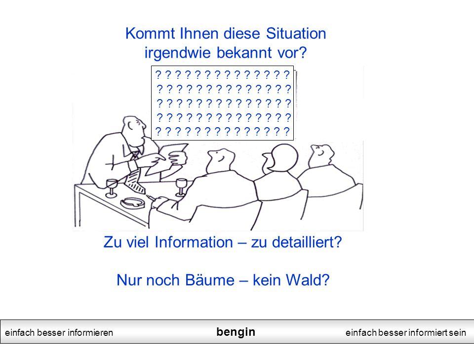 einfach besser informieren bengin einfach besser informiert sein .