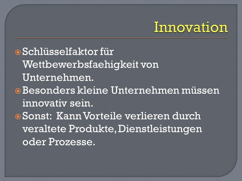 Schlüsselfaktor für Wettbewerbsfaehigkeit von Unternehmen.