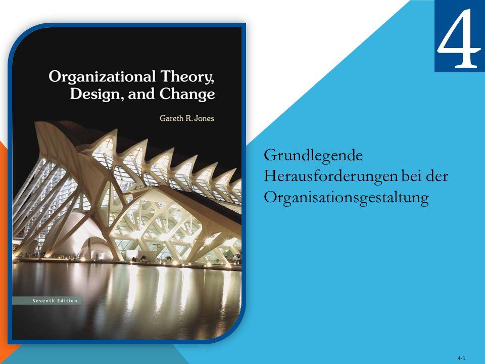 Grundlegende Herausforderungen bei der Organisationsgestaltung 4-1