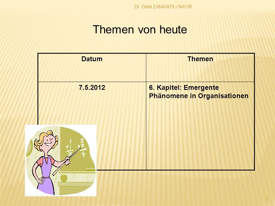 Dr.Dilek ZAMANTILI NAYIR 3 DatumThemen 7.5.20126.