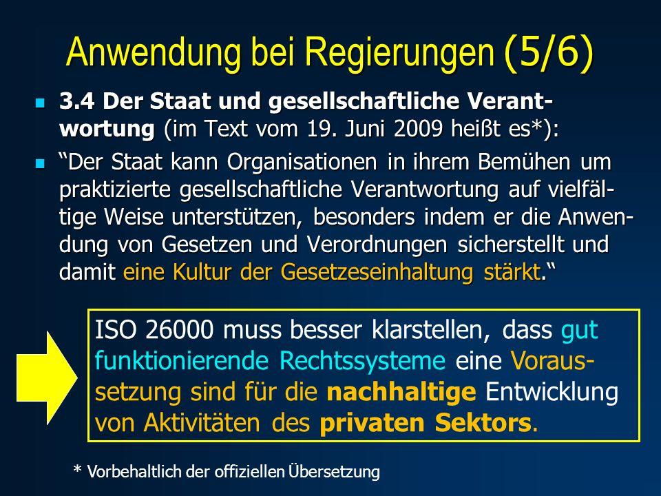 3.4 Der Staat und gesellschaftliche Verant- wortung (im Text vom 19.