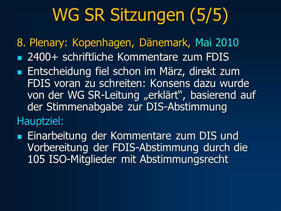 WG SR Sitzungen (5/5) 8.