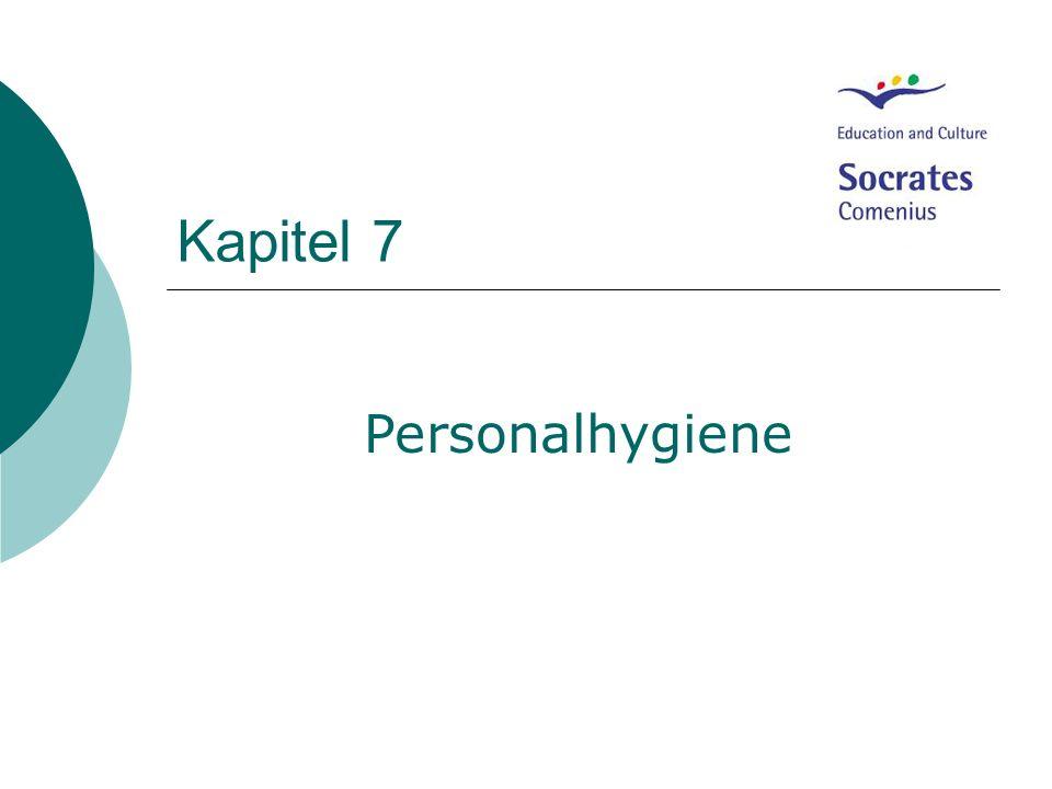 Kapitel 7 Personalhygiene