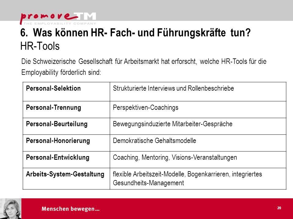 6.Was können HR- Fach- und Führungskräfte tun.