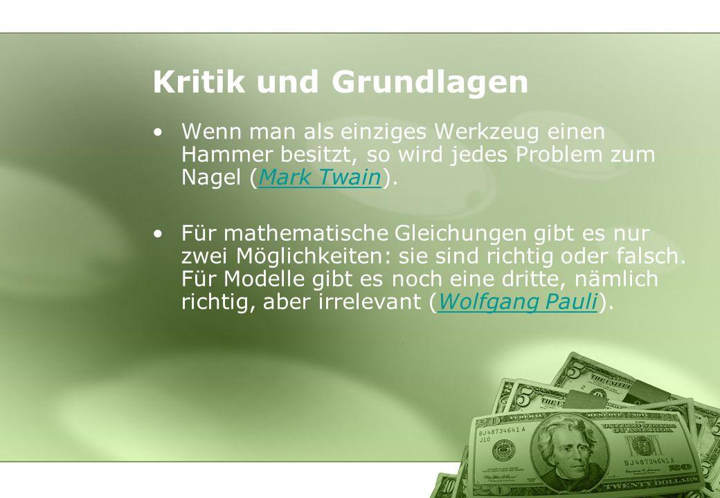 Das Bilanz- (G&V-) Schema wird zum Relevanzfilter –Was nicht im Rechnungswesen darstellbar ist (= wofür es keine Bewertungsregeln gibt) wird nicht wahrgenommen.