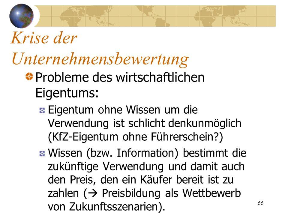 66 Probleme des wirtschaftlichen Eigentums: Eigentum ohne Wissen um die Verwendung ist schlicht denkunmöglich (KfZ-Eigentum ohne Führerschein?) Wissen