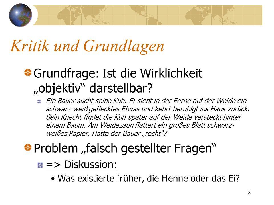 19 Information externer Stakeholder Wertorientierte Kennzahlen (EVA, CFROI)?...