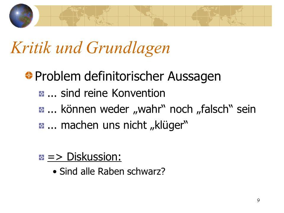 30 Probleme der Bilanzanalyse (der alten wie der modernen): Bilanzkennzahlen sind Vergangenheitsorientiert V.a.