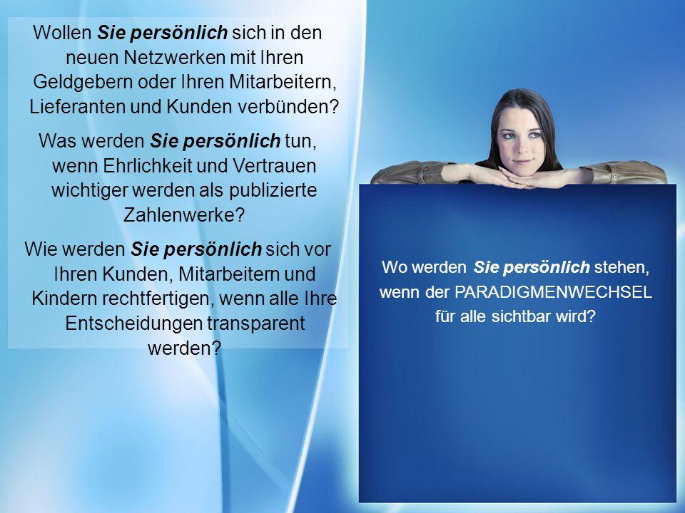http://www.franzhoermann.com Wollen Sie persönlich sich in den neuen Netzwerken mit Ihren Geldgebern oder Ihren Mitarbeitern, Lieferanten und Kunden v