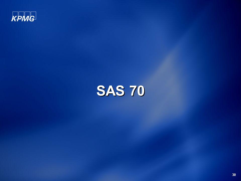 30 SAS 70