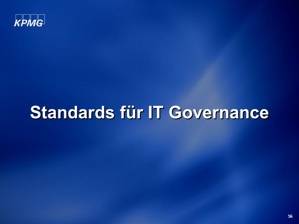 56 Standards für IT Governance
