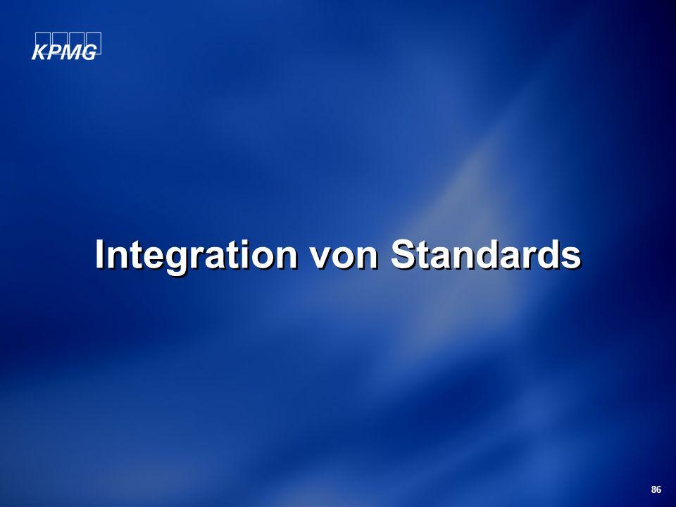 86 Integration von Standards
