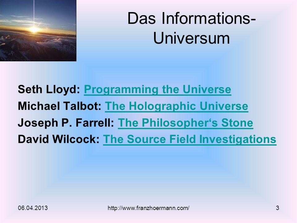 Seth Lloyd: Programming the UniverseProgramming the Universe Michael Talbot: The Holographic UniverseThe Holographic Universe Joseph P.