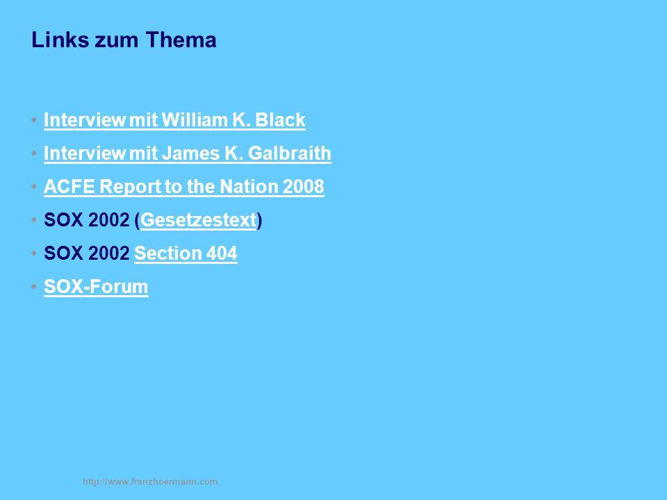 http://www.franzhoermann.com Links zum Thema Interview mit William K.