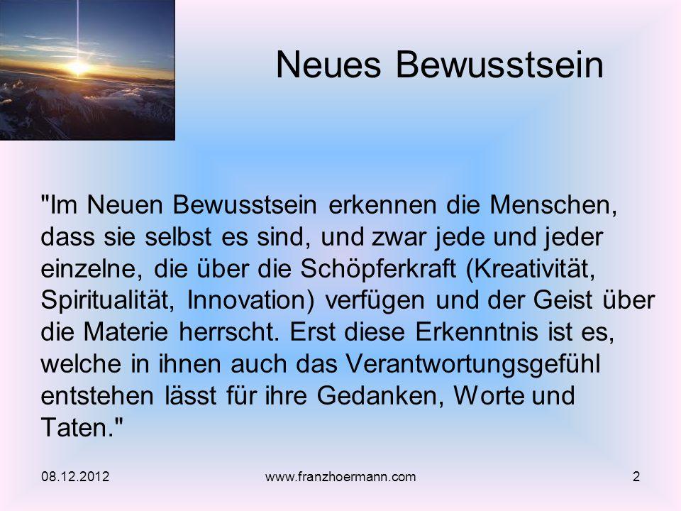Zukunft: Kooperationsnetze 08.12.201233www.franzhoermann.com