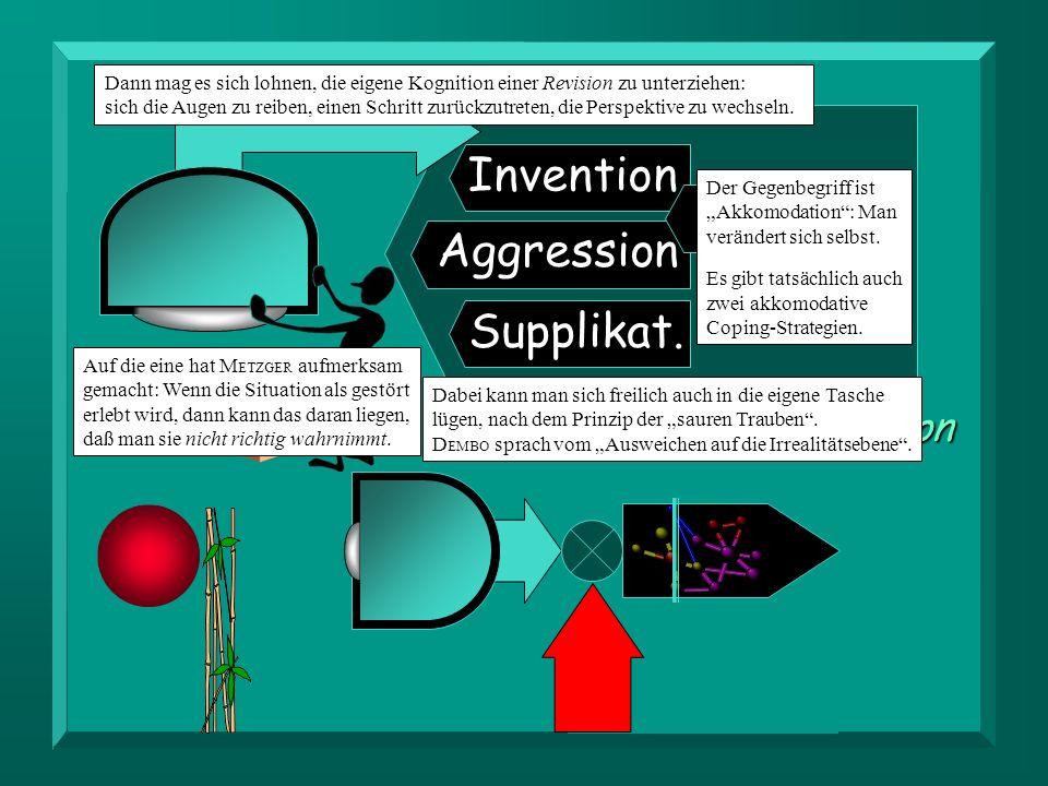 Invention Aggression Supplikat.