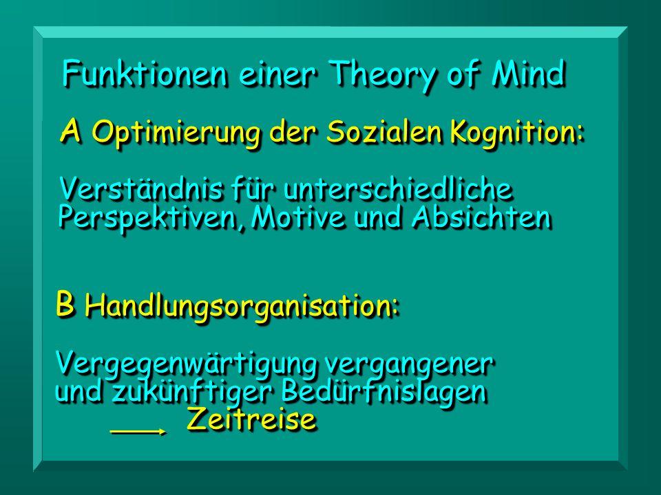 A Optimierung der Sozialen Kognition: Verständnis für unterschiedliche Perspektiven, Motive und Absichten A Optimierung der Sozialen Kognition: Verstä