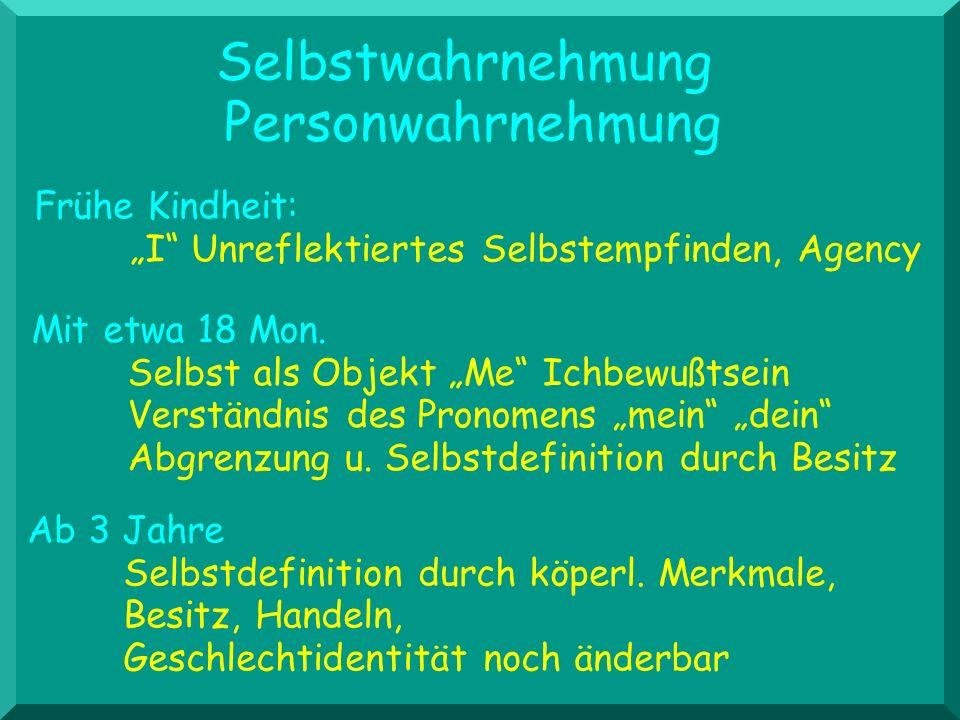 Handlungen Interaktional Äußerlichkeiten Pauschale Bewertungen 2-3 J.