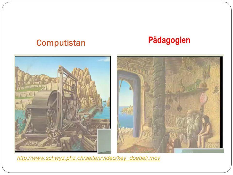 Computistan Pädagogien http://www.schwyz.phz.ch/seiten/video/key_doebeli.mov